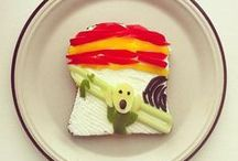 Food inspired by ART