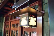 Signature Project - The Lodge at Torrey Pines / Handmade Craftsman Lighting for The Lodge at Torrey Pines in La Jolla, CA. Many of these craftsman lanterns are exact reproductions of craftsman lighting from both the Gamble House and the Blacker House in Pasadena, CA.