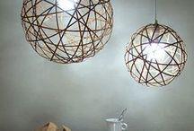 DIY Lighting Ideas... / #lightshades  #candelabras #candles  #upcycling #DIY #lightingideas #repurposing #lightshades