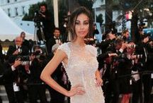 Red carpet at Cannes 2015 / Showing pearls jewelries