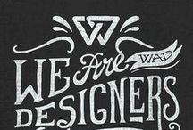 Typography / Fonts and lettering that make us happy.