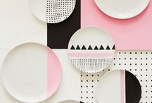 New Geometrics / Contemporary geometric patterns in art, design and print trends.