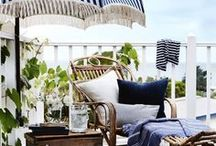 By The Poolside... / Ideas for poolside decor and gardens...