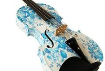 Beautiful Violins and Cellos... / Artistically styled and photographs of violins and cellos.