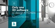 ArredoCAD kitchen / Only one  3D software  to design KITCHEN Request your free demo on arredocad.com #kitchen #design #kitchendesign #interiordesign #designer #architecture #render #3d