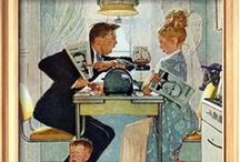 Art - Norman Rockwell / by Gary