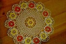 My crochet works / Doilies and little things