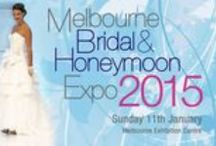 2015 Melbourne Bridal and Honeymoon Expo / The Melbourne Bridal & Honeymoon Expo - Sunday 11th January 2015 - offers a one-stop shopping experience for the most important day in a Bride's life and where the entire bridal party can meet with Australia's leading wedding industry suppliers in one convenient location.