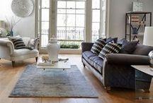 Designer Living Rooms / Top brands for living room furniture and design. Find more at https://www.lenleys.co.uk/living-room