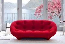 Ligne Roset / This French based designer company has some of the most exciting designs on the market today; with a range of furniture, that encompasses living, dining, working and sleeping areas of the home. https://www.lenleys.co.uk/index.php?route=product/manufacturer