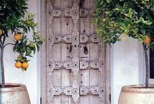Door ways & windows / Doors,pathways,new beginnings,knobs,familiar paths & views