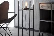 Vintage Industrial Lighting / Some of the stunning industrial vintage lighting now available in Lenleys new department.
