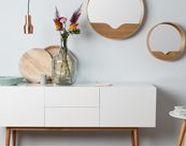 New Scandi Furniture / Beautiful Scandi inspired furniture, perfect and versatile with it's stunningly minimalist design.