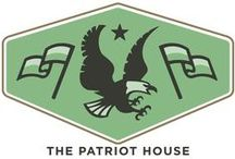 The Patriot House / Stand and salute. Heritage and pride abounds with our Americana-inspired product line.