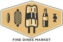 Fine Dine's Market / Our mouth tends to water when we look at our food and drink products!