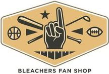 Bleachers Fan Shop / Everything you need for your sports room from basketball, football, soccer, baseball, golf, boxing and more!