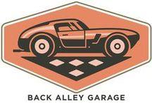 Back Alley Garage / Auto, petro and garage aficionados!