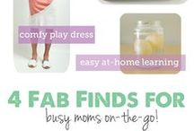 Mommy Board / For all the active, on-the-go mothers out there.