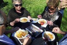 Degustació Suquet de Peix amb maridatge de vins DO Empordà / Un #luxe de matí de primavera amb temperatures d'estiu #aRoses!! Tast de vins Empordà Denominació d'Origen i #SuquetDePeix dins el #Vivid; amenitzat amb la visita dels blocaires francesos j'aime le monde i Madame Oreille, photos de voyage, dins el Road Trip organitzat per Catalunya Experience.fr #EnvieDeCatalogne i el Patronat de Turisme Costa Brava #InCostaBrava