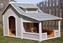 DOGGY BEDS & HOUSES