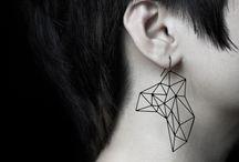 A  | fine line / Simple lines : minimal jewelry