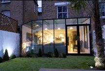 From Traditional Terrace to Amazing Glazing / Structural glass has transformed Alistair and JV Russell's Victorian home into a modern masterpiece.