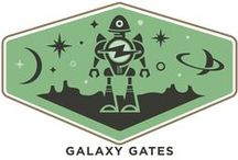 Galaxy Gates / Travel through time, encounter aliens, tinker with technology of the future and discover a little magic with products that are out of this world!