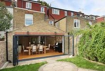 Beautiful kitchen extension in London KT1 with pitched roof