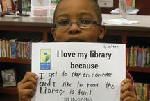 I love my library because... / #UNselfies from our 2015 #GivingTuesday campaign