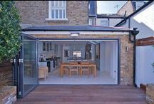 Pitch-to-hip roof kitchen extension in Battersea