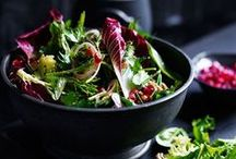 Salads / A board filled with the most beautiful and delicious salads I can find. Easy Salads, Healthy salads and indulgent salads for everyone.