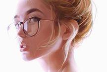 Art - Jace Wallace & Digital portraits