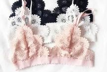 ⚘ Underneath it All / We may create sleepwear, but what goes underneath can be just as inspiring. This is a board filled with pretty under pinnings of bras, underwear, and other lingerie.