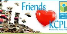 Friends ❤️ KCPL / Friends of the Knox County Public Library's monthly e-newsletter