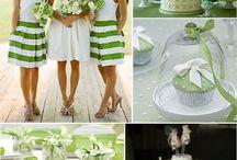 Danny & David Green & White Wedding Inspiration Board / by Belem Piccione Event Design & Production