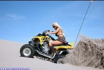 Atv Quad Women Blonde / Blonde + Yamaha