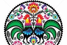 Polish Folk Patterns