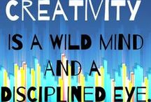 Creativity inspiration & Creative ideas