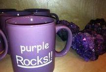 Purple things...
