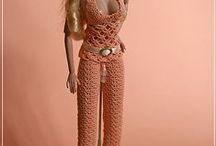 Barbie Crochet, knit & misc. / Ideas for Barbie knitted and crocheted clothes as well as hair, shoes etc / by Sondra Scholz