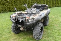 Yamaha Grizzly 700 - 2008 / 12 316 km, 598.5 MTH