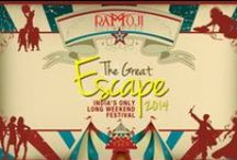 The Great Escape 2014 / Here's a chance to break free from that hurried ride to work, those tiring moments, those moments spent pensively thinking about the future. Ramoji Film City presents The Great Escape 2014, India's only long weekend festival! Click here to know more: http://goo.gl/hJKOJA