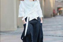 Kimonos & Wraps / Kimonos and wrapped tops.