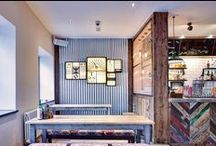 Crafty Pig, Manchester / Industrial feel bar and restaurant in Manchester's Northern Quarter.