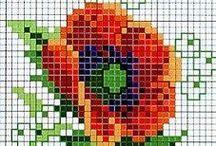 Knitting, crochet, cross-stitch ideas, quilting & sewing ideas