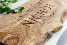 Rustic Wedding Gift/ Anniversary Boards / Perfectly unique, rustic, memorable and just downright lovely.