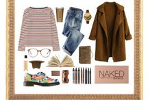Polyvore / I really enjoy creating outfits with polyvore, so you can see all those outfits I made here