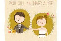 Wedding cards / Esküvői meghívók