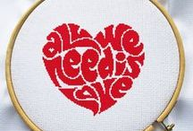 Love cross stitch patterns