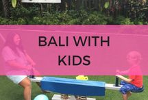 Bali With Kids / Bali kids family travel inspiration. Including Bali with toddlers or babies.